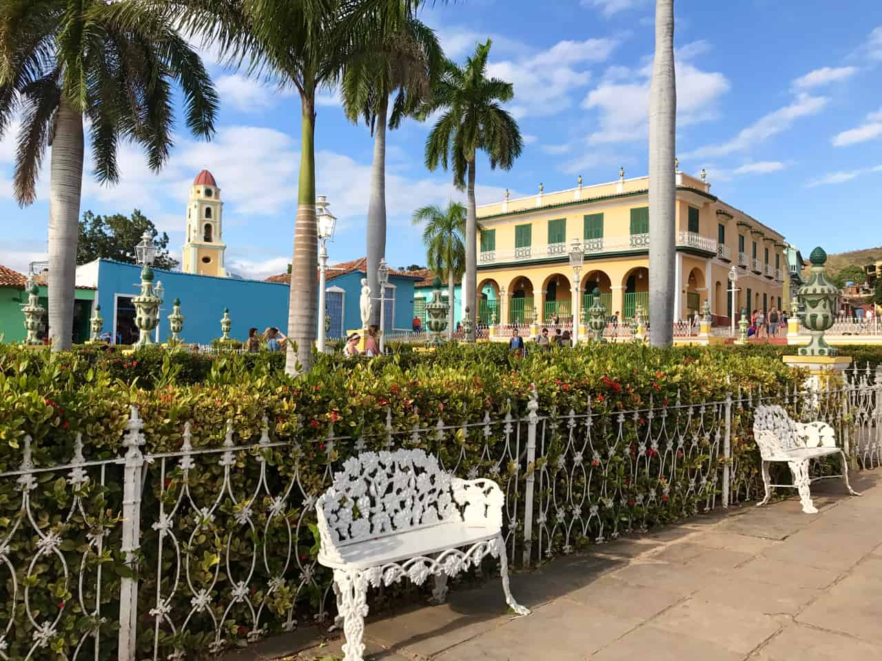 Our two weeks in Cuba includes three days in Trinidad, starting in historic Plaza Mayor.