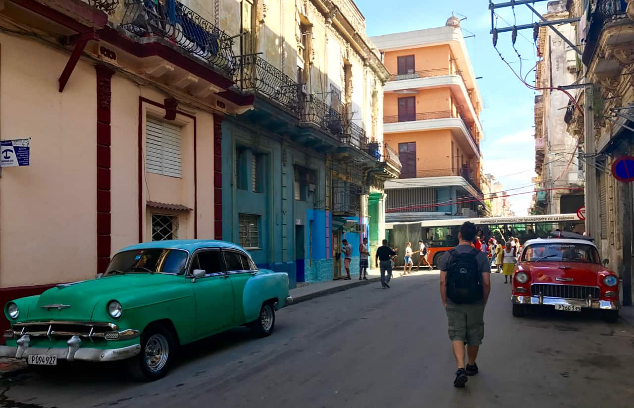 Two weeks in Cuba starts with a walk through the streets of vibrant Havana.