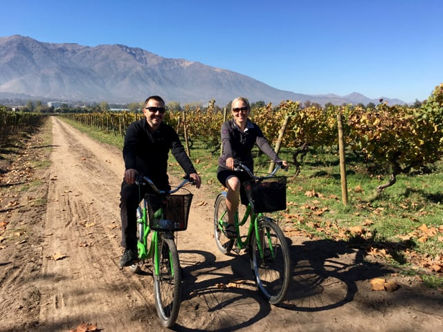 Exploring Santiago's Maipo Valley on a bike and wine tour was a travel highlight of 2017.