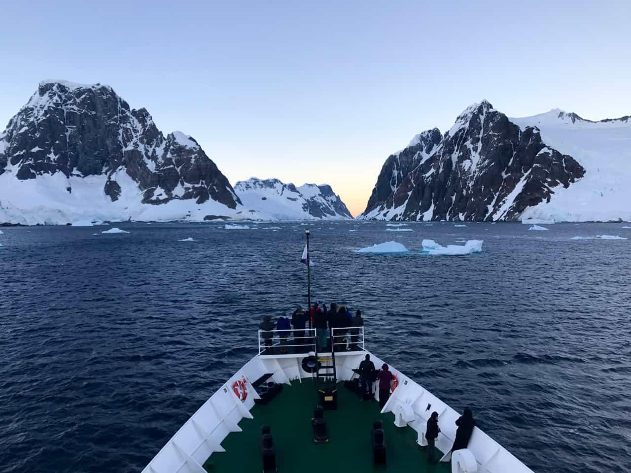 Visiting Antarctica aboard the expedition ship, MV Ushuaia.