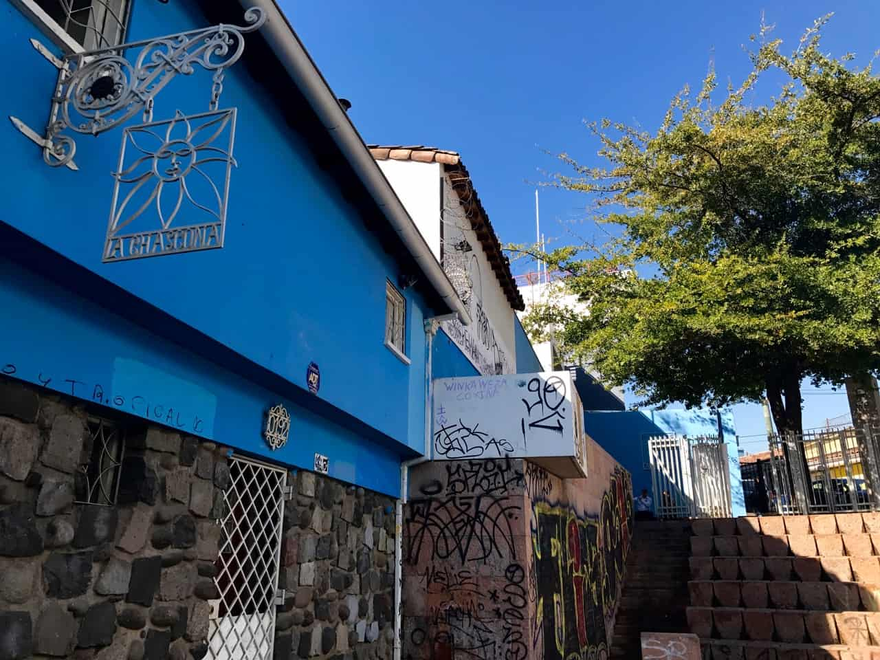 Things to do in Santiago - View from the outside of Pablo Neruda's charming house, La Chascona