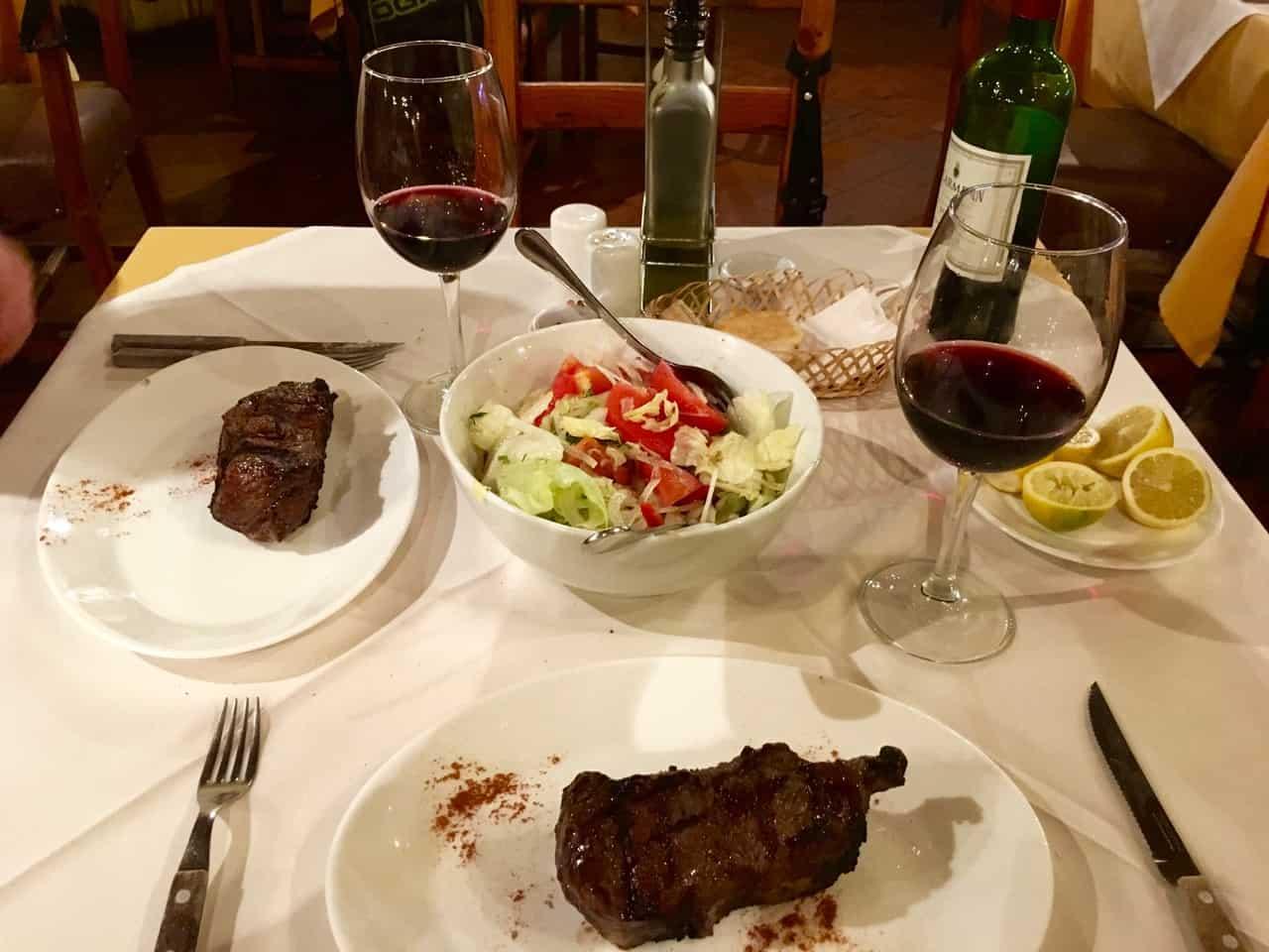 Things to do in Santiago - Steak and wine dinner at Las Vacas Gordas restaurant in Santiago