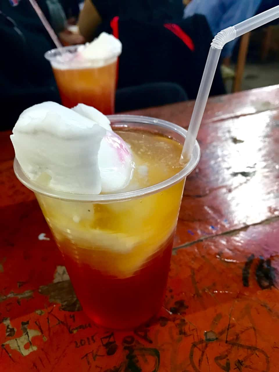 Things to do in Santiago - Chile's national drink, the Terremoto