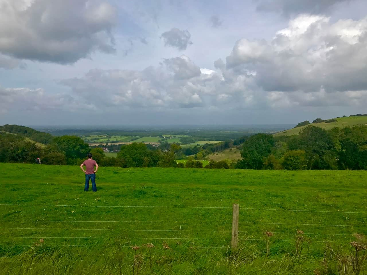 East Sussex Road Trip – taking in the views from the Devil's Dyke lookout