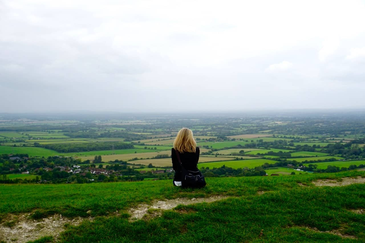 East Sussex Road Trip – Sit and enjoy the view at Devil's Dyke