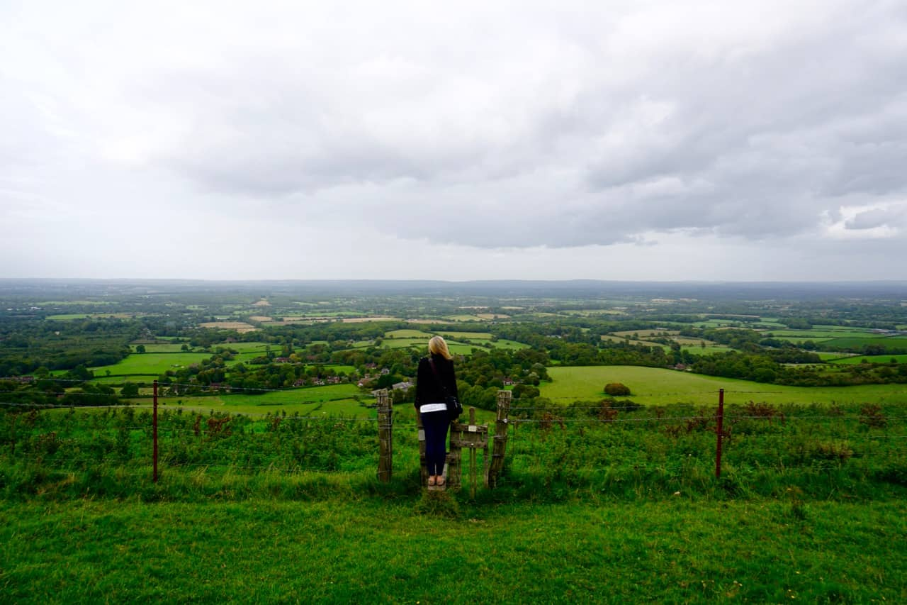 East Sussex Road Trip – View from Ditchling Beacon