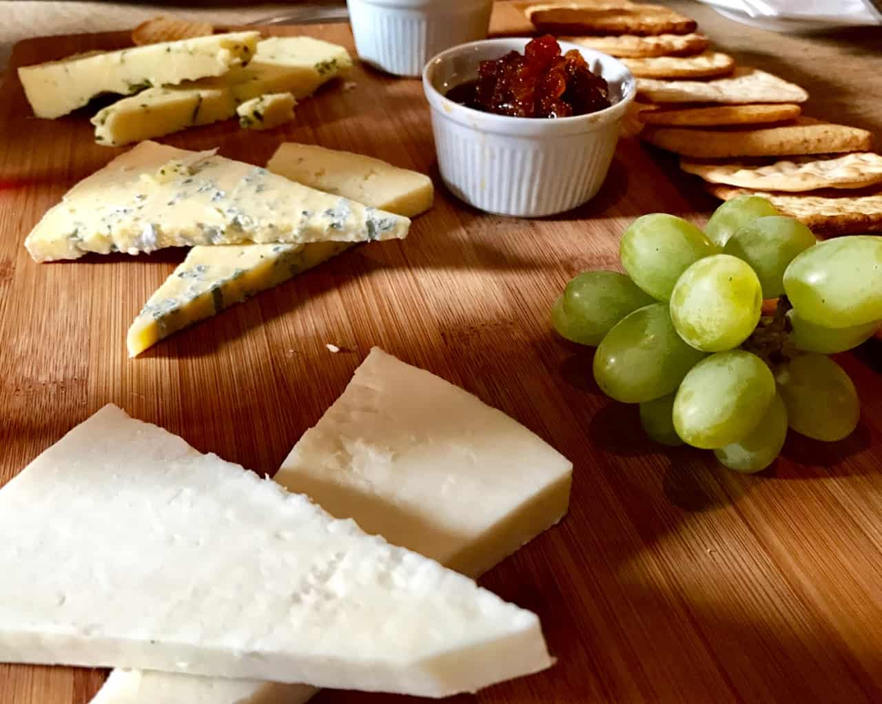East Sussex Road Trip - Cheese Board at the George Inn