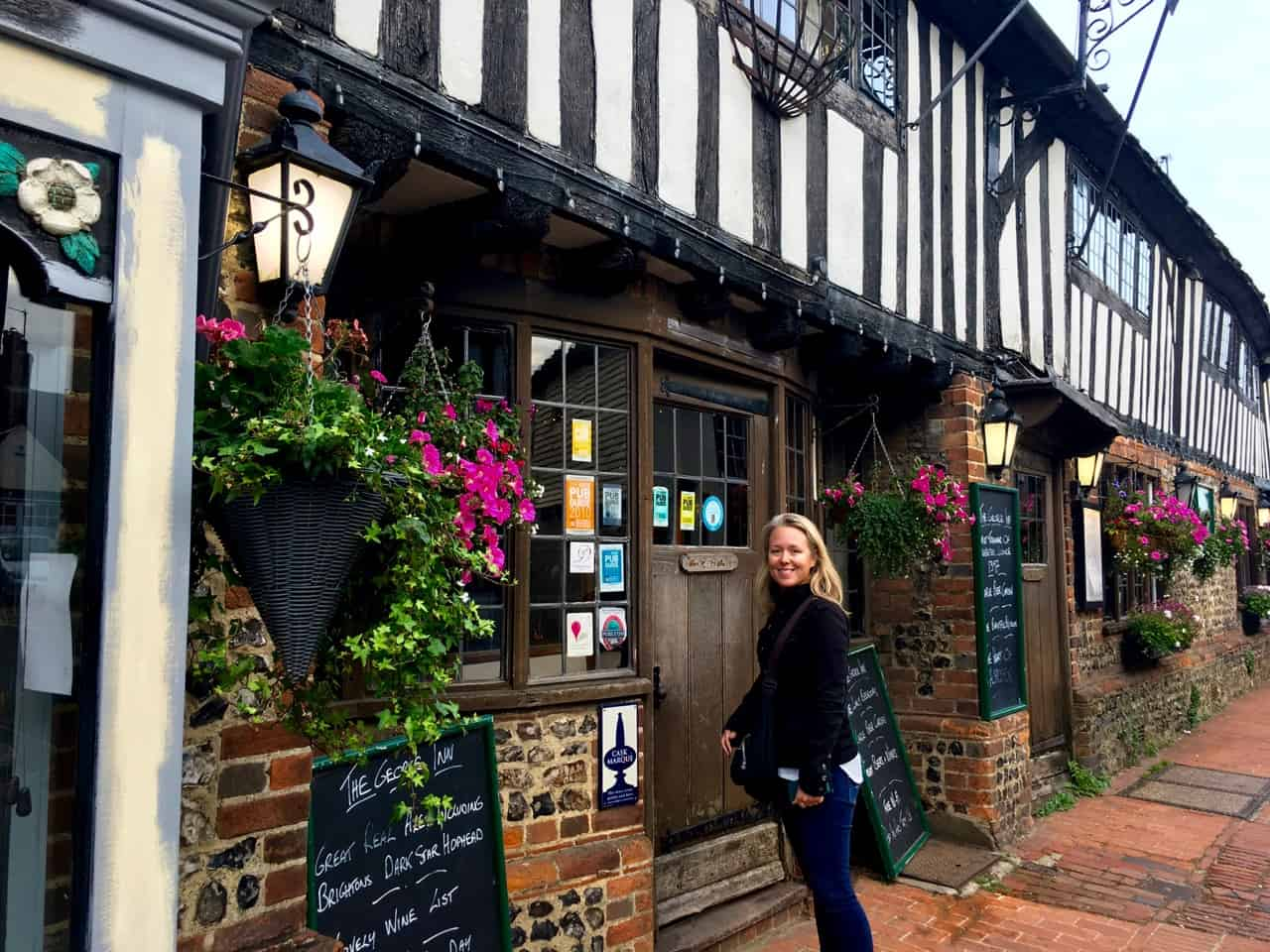 East Sussex Road Trip - The George Inn at Alfriston