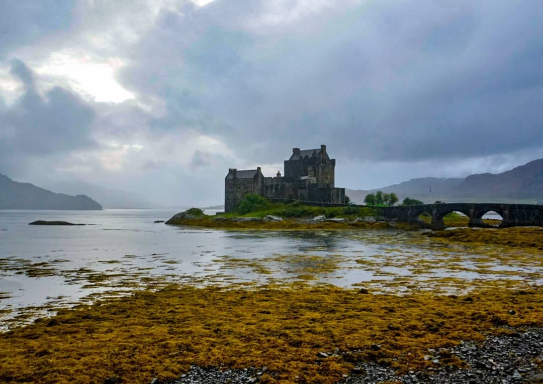 Returning from an Isle of Skye road trip will take you past famous Eilean Donan Castle.