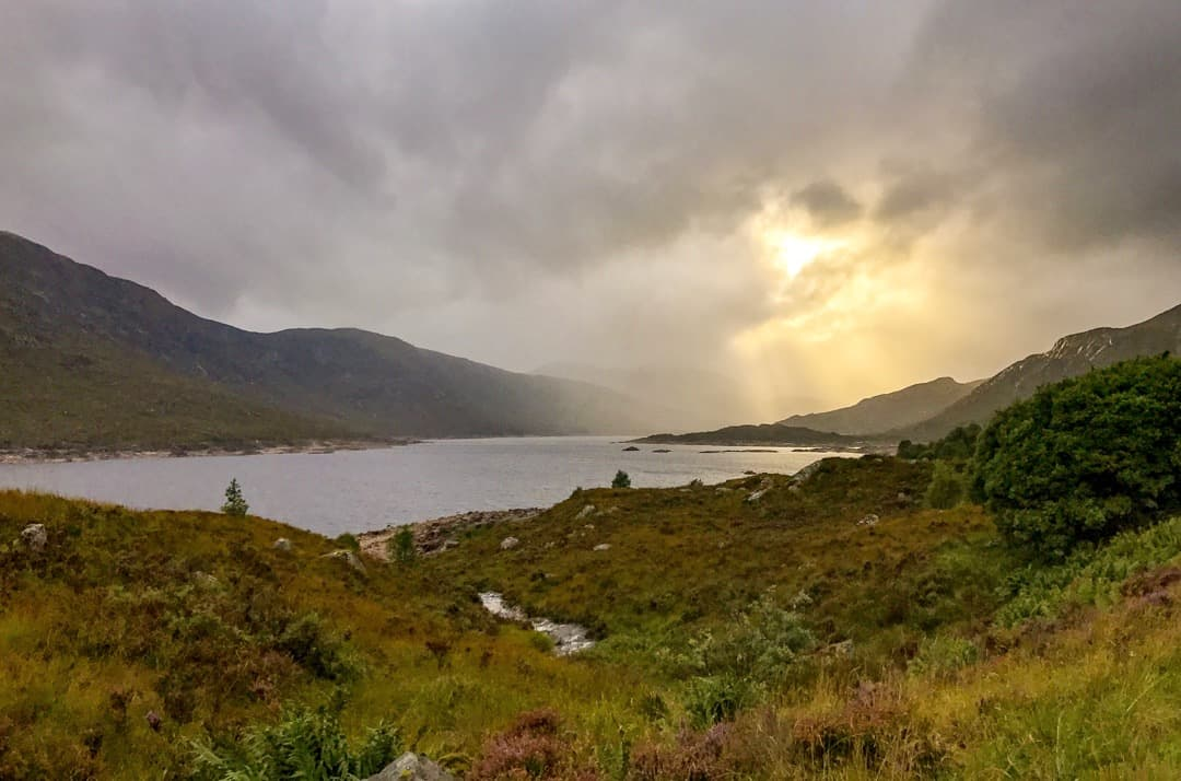 Our Isle of Skye road trip turns up constant photo opps, like sunlight bursting through clouds.