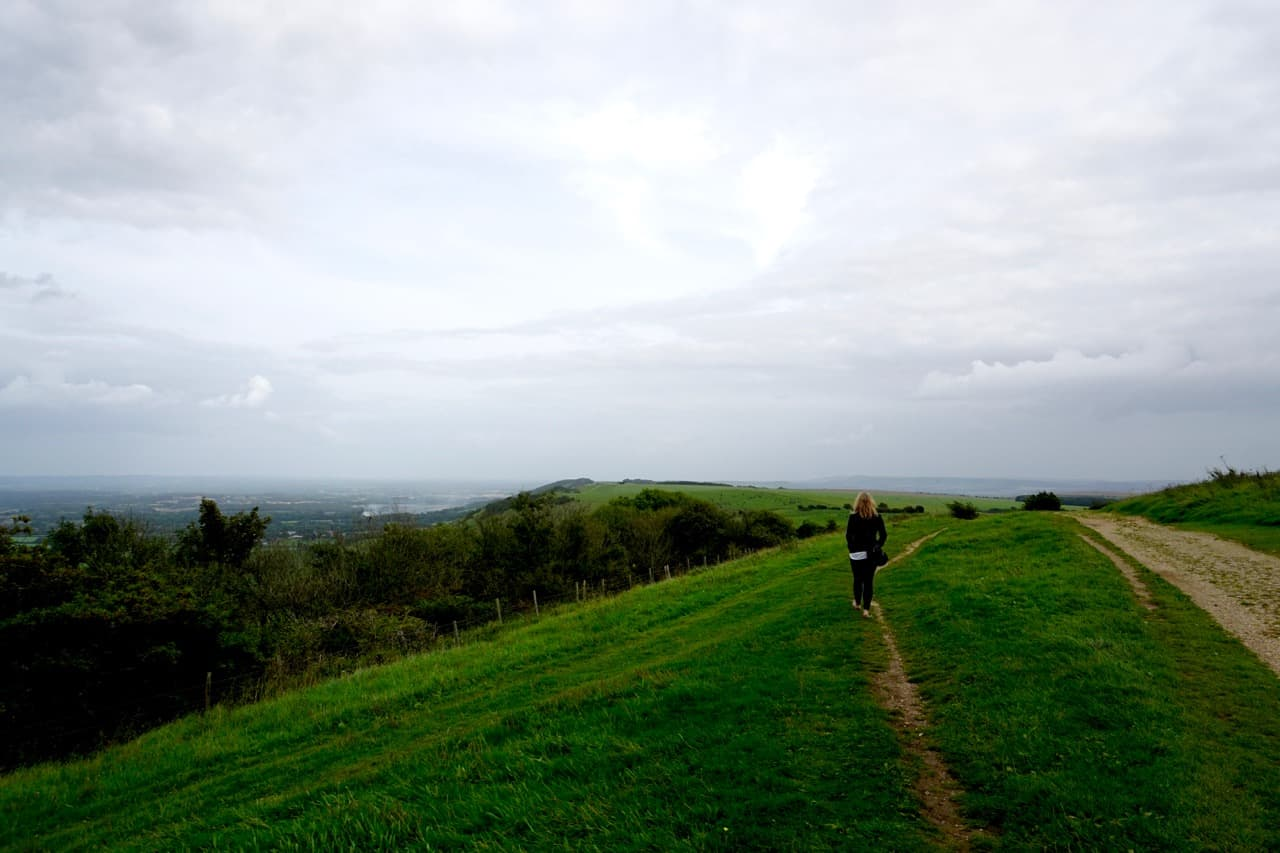 East Sussex Road Trip – spectacular views from Ditchling Beacon