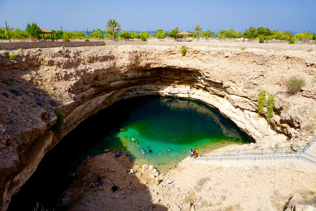Cool of at Bimmah Sinkhole