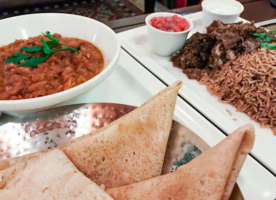 Delicious Omani Food