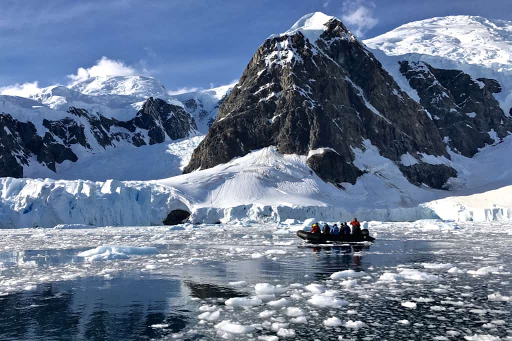 Paradise Bay in Antarctica: Our Best of the Best of the Best in Travel for 2017.