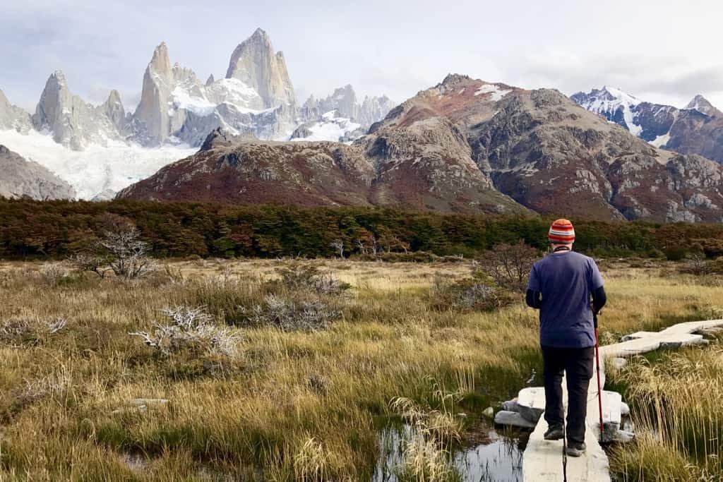 The magnificent Laguna de Los Tres trail in El Chalten, Argentina.
