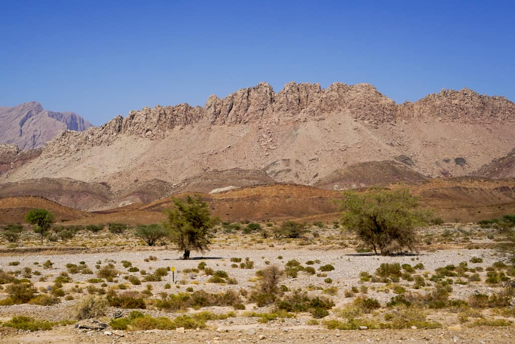 Explore Oman - The the town of Nizwa is surrounded by some of the highest mountains in Oman.