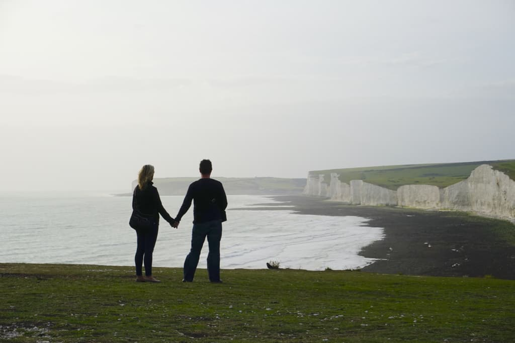 Best in travel 2017: Looking out over the Seven Sisters on England's south coast.