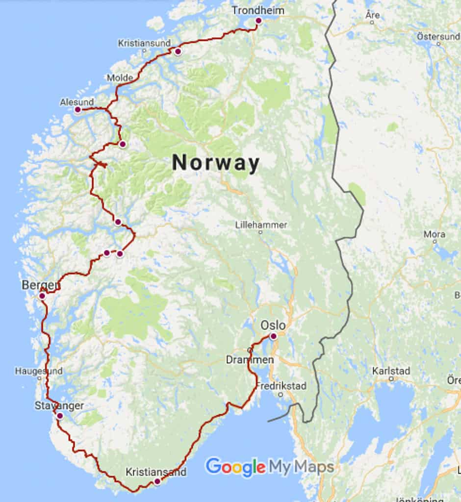 Planning A Road Trip >> Norway Road Trip Itinerary: An Epic Self Drive Adventure - Two For The World